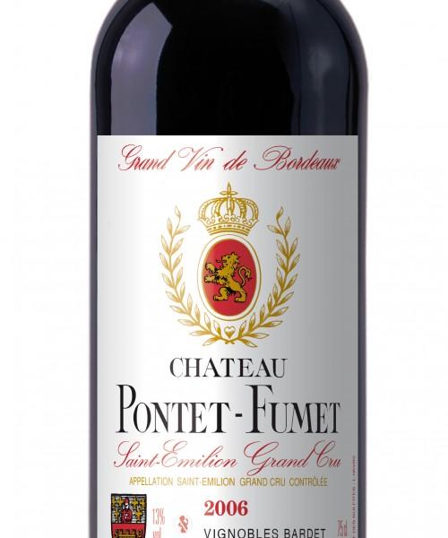 Visuel bouteille Pontet-Fumet 2006